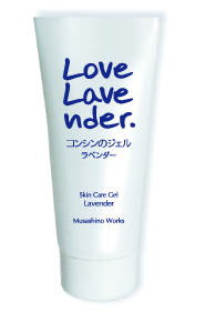 Love ラベンダー、香りのスキンケアジェル