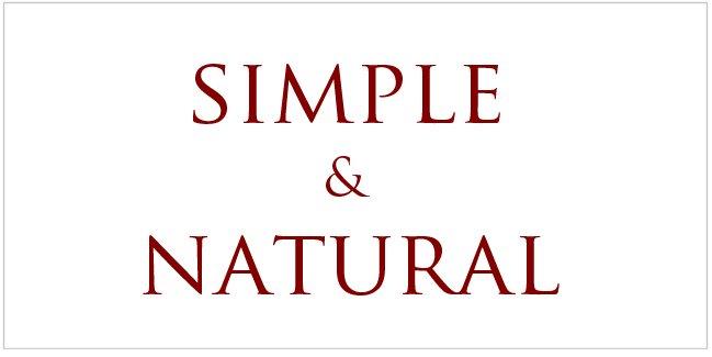 シンプル&ナチュラル